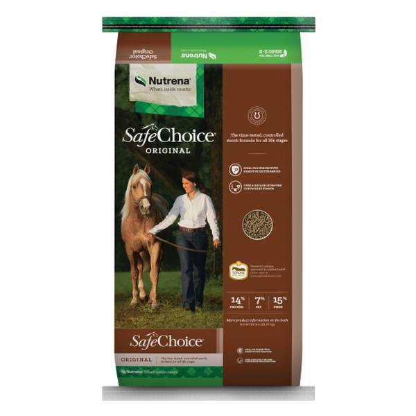 SafeChoice Pelleted Horse Feed
