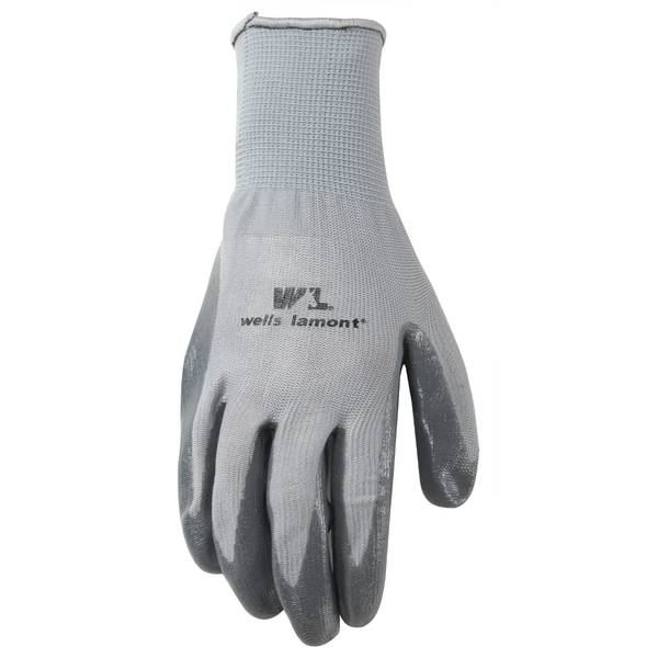Men's Grey Nitrile Fine Gauge Gloves