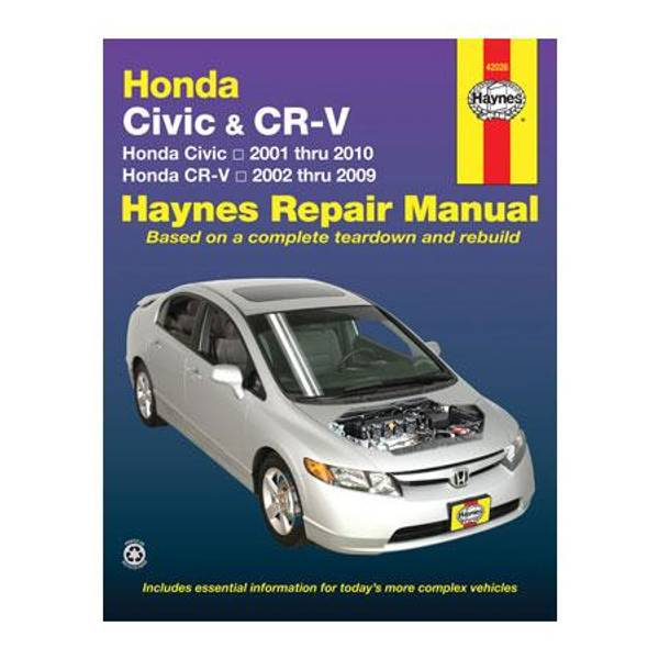 Honda Civic (01-10) and CR-V (02-09) Manual