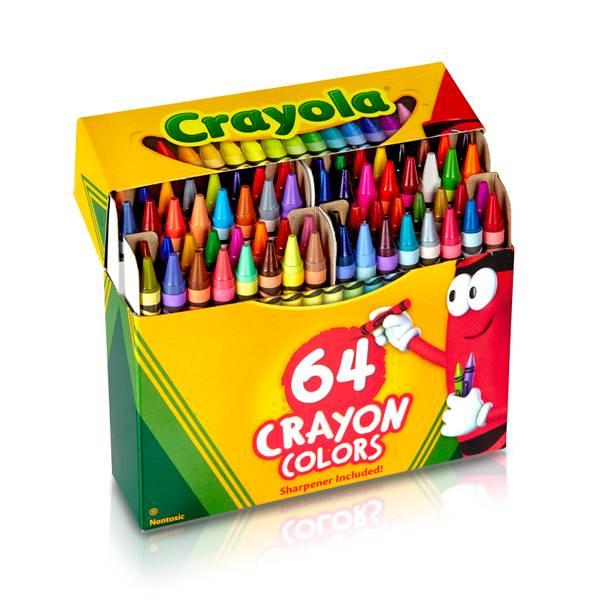 Lift Lid Crayons Set