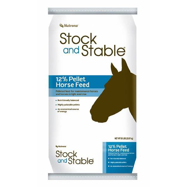 Stock and Stable Pelleted Horse Feed