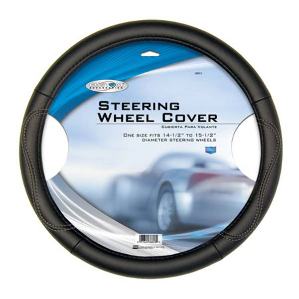 Leatherette Steering Wheel Cover