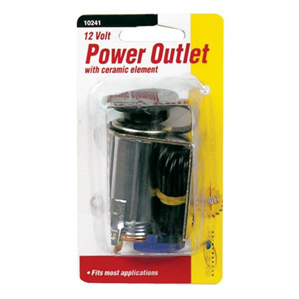 12 Volt Auxilliary Power Outlet