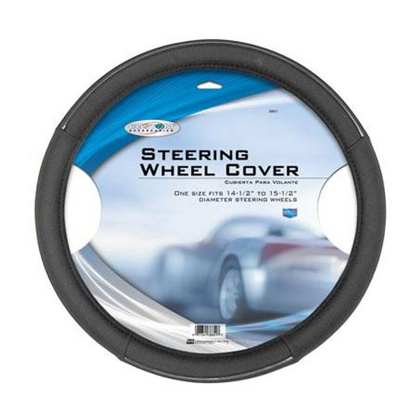 Chrome Accent Steering Wheel Cover