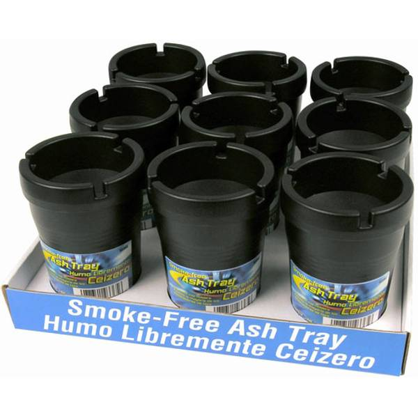 Black Smokeless Ashtray