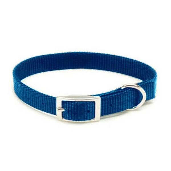 Blue Nylon Collar