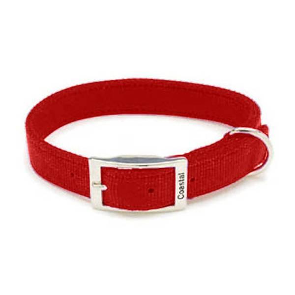 Double Ply Red Nylon Collar