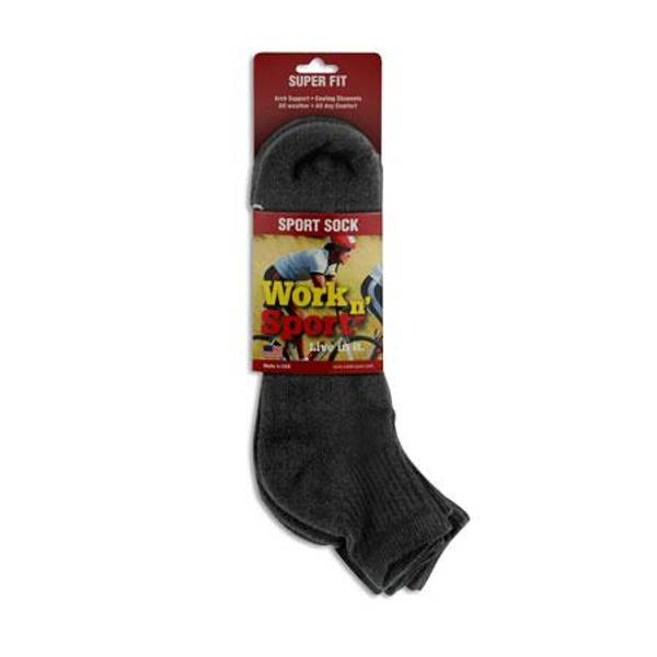 Mens Quarter Cotton Socks