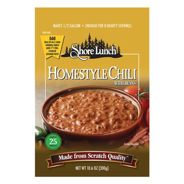 Homestyle Chili with Beans Soup Mix