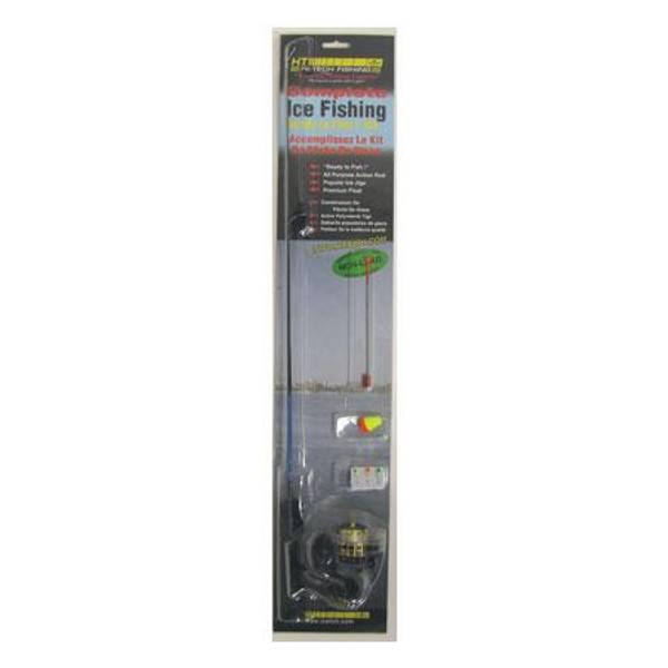 Hardwater Spin Combo Ice Fishing Kit