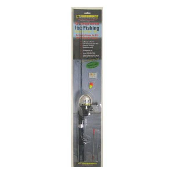 Hardwater Cast Combo Ice Fishing Kit