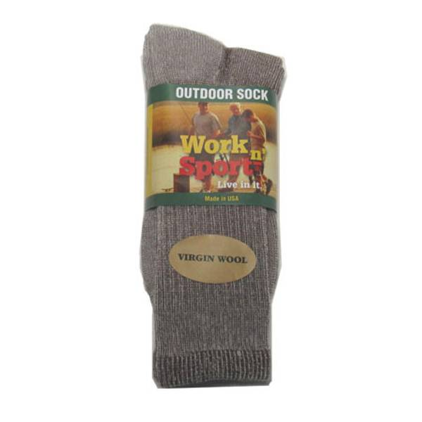 Men's  Outdoor Virgin Wool Socks