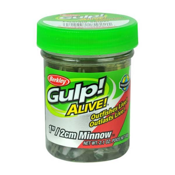 Emerald Silver Gulp Alive Minnow