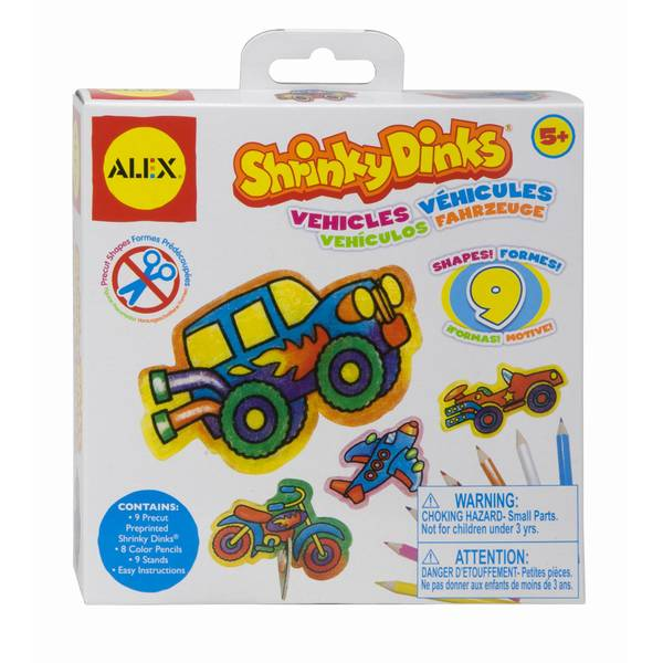 Shrinky Dinks Vehicles On The Move Kit