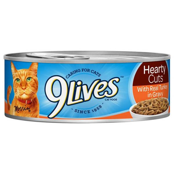 Hearty Cuts With Real Turkey In Gravy Cat Food