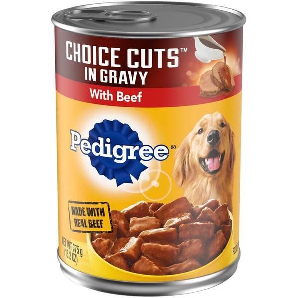 Choice Cuts in Gravy Dog Food