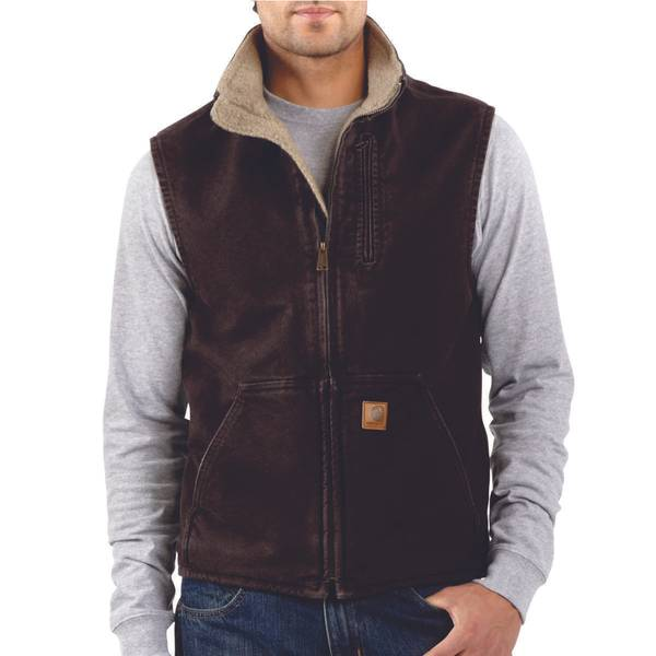 Men's Mock-Neck Vest