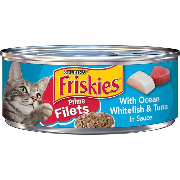 Prime Filets With Ocean Whitefish & Tuna In Sauce