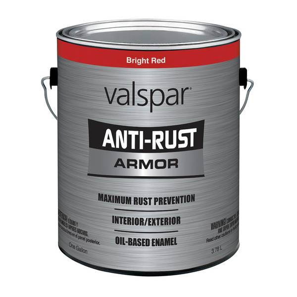 valspar 1 gallon anti rust gloss paint. Black Bedroom Furniture Sets. Home Design Ideas