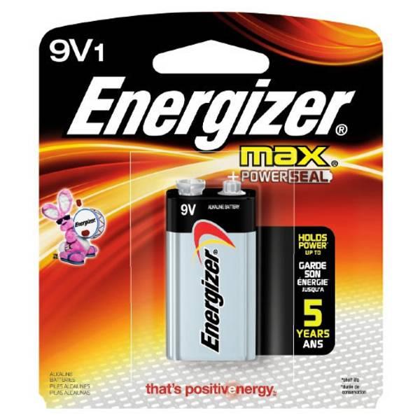 "Max ""9V"" Alkaline Battery"
