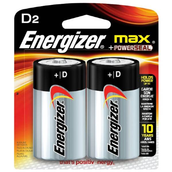 "Max ""D"" Alkaline Battery"