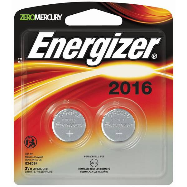 Button Cell Battery - 2 Pack