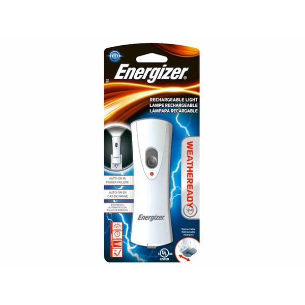 Energizer Weather Ready Compact Rechargeable LED Flashlight