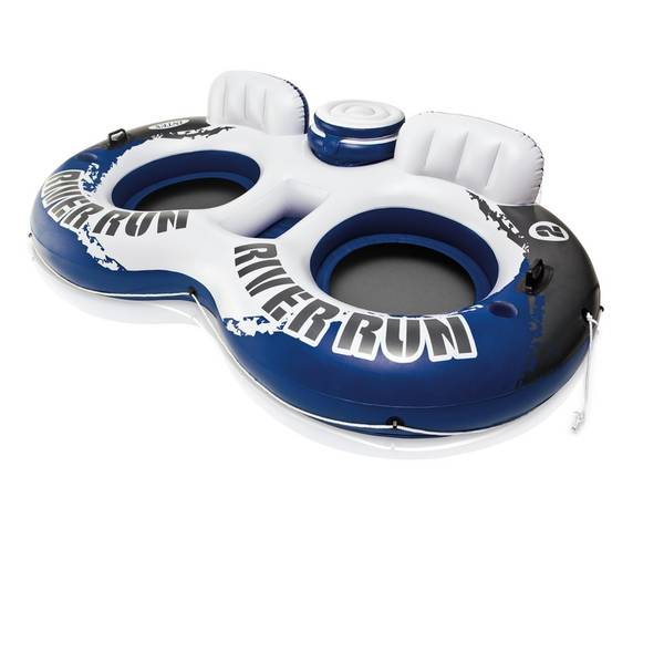 Two Person Water Tube With Cooler