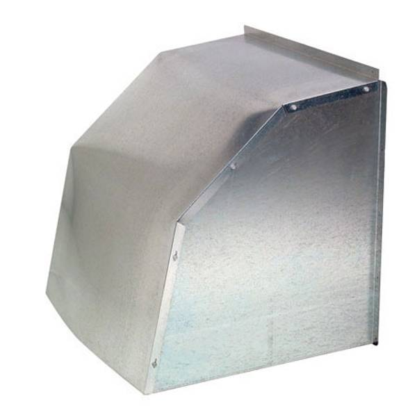 Galvanized Weather Hood