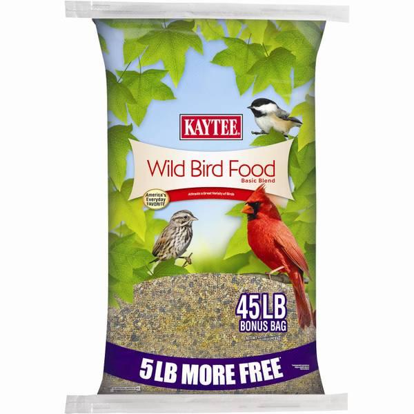 Kaytee 45 lb Basic Blend Wild Bird Food (632676 100528785) photo