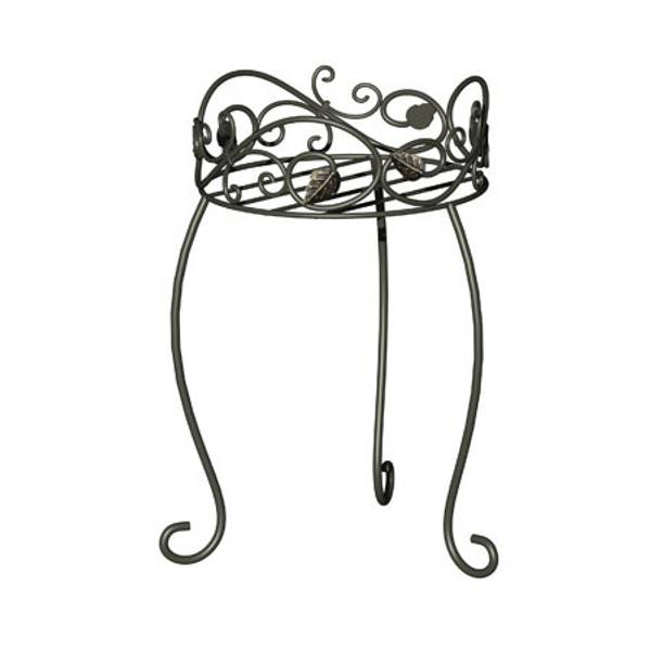 Scroll & Ivy Plant Stand