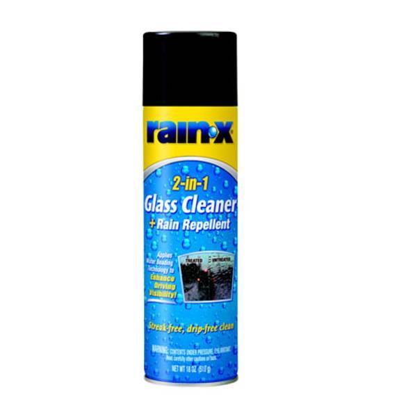 2 in 1 Glass Cleaner & Rain Repellent