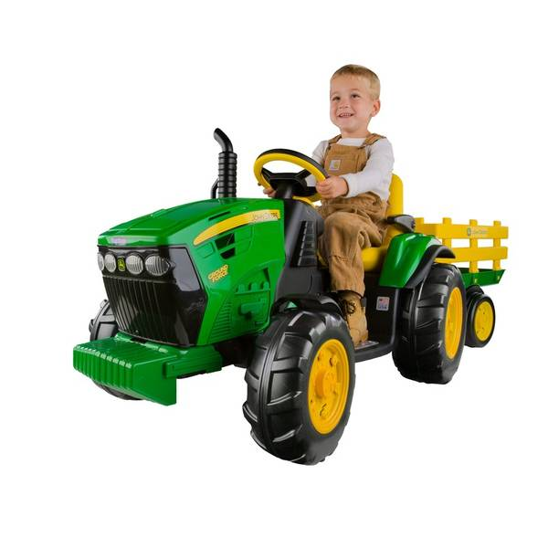 peg perego john deere ground force tractor. Black Bedroom Furniture Sets. Home Design Ideas