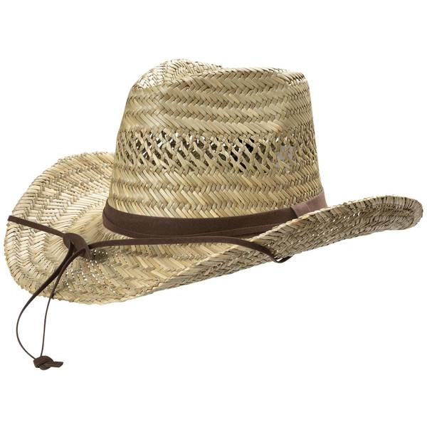 Men's Shapeable Western Hat With Chincord