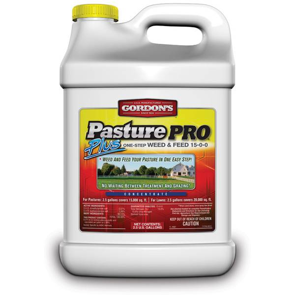 Pasture Pro Plus One-Step Weed and Feed 15-0-0