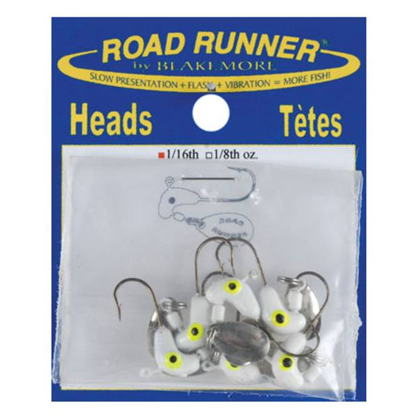 1/16 oz Road Run Jig Heads
