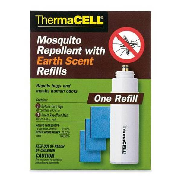 Thermacell Mosquito Repellent With Earth Scent Refills E1