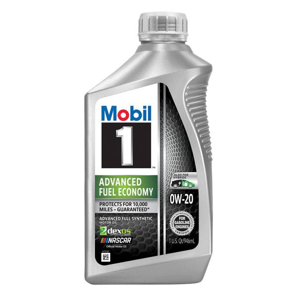 0W20 Advanced Fuel Economy Motor Oil