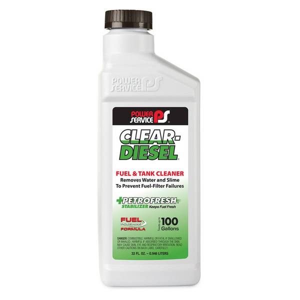 Clear-Diesel Fuel & Tank Cleaner