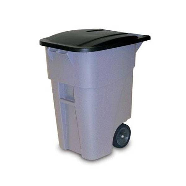 50 Gallon Brute Wheeled Refuse Can