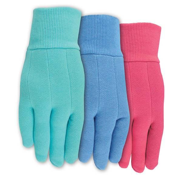 MidWest Gloves Womens Jersey Garden Gloves