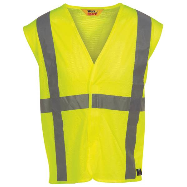 Big Men's Hi -Visibility ANSI Class 2 Reflective Safety Vest