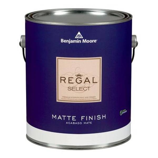 Benjamin Moore 1 Gallon Regal Matte Finish Interior Paint