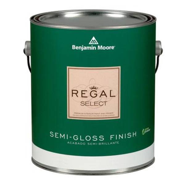 Benjamin Moore 1 Gallon Regal Semi Gloss Finish Interior Paint