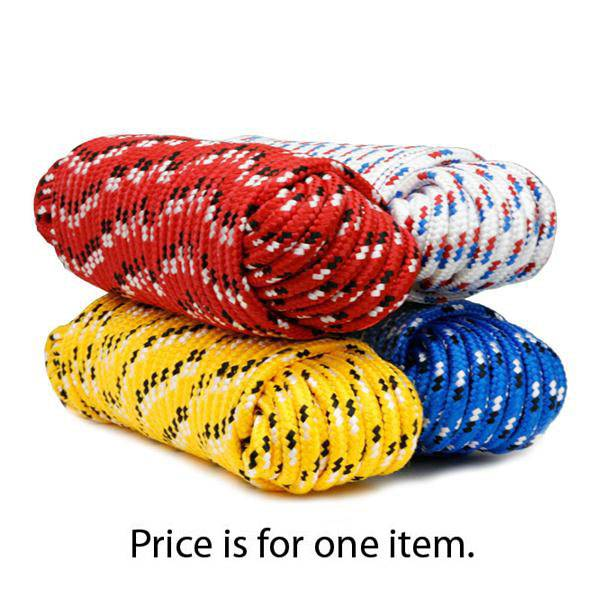 50' Diamond Braided Poly Pro Rope