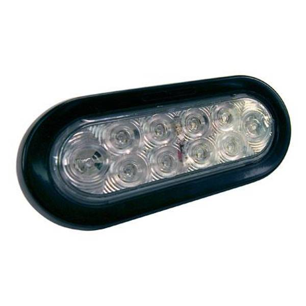 "6"" LED Oval Tail / Turn Lens"