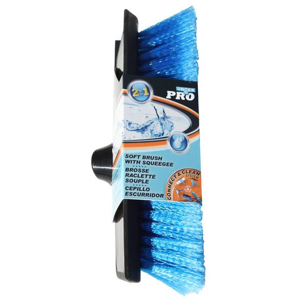 "10"" Soft Brush With Squeegee"