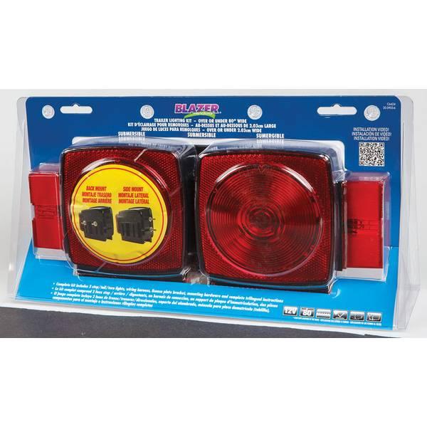 Submersible Trailer Light Kit