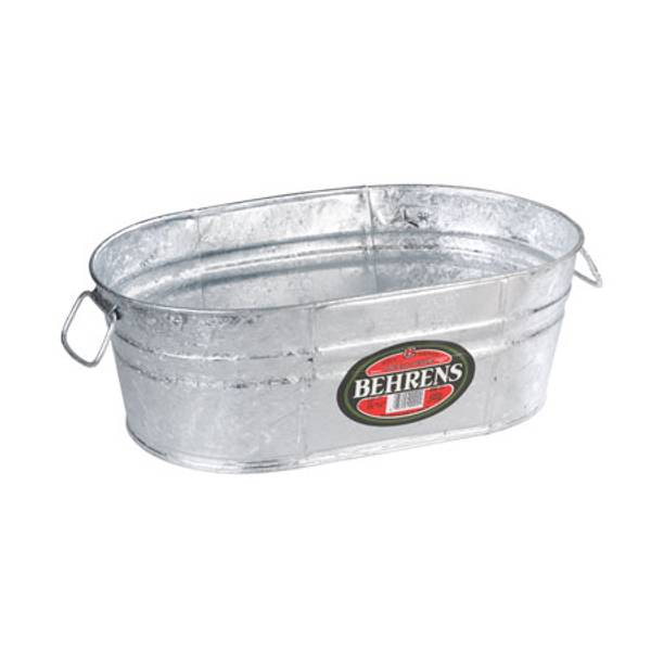 22 Quart Hot Dipped Oval Tub