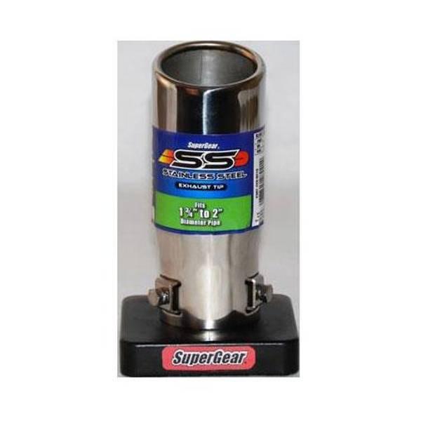Round Slant Large Barrel Exhaust Tip